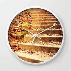 Enchanted Staircase Wall Clock