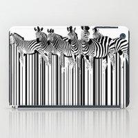 Zebra Barcode iPad Case