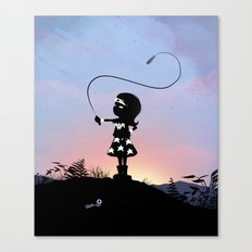Wonder Kid Canvas Print