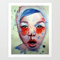 Red, White & May Art Print