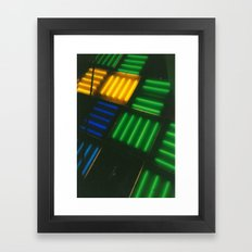 Crosshatch Framed Art Print