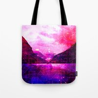 Spaced Louise Tote Bag