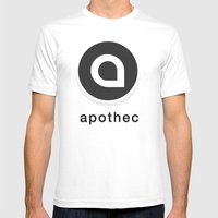 Apothec Identity 2012 Mens Fitted Tee White SMALL