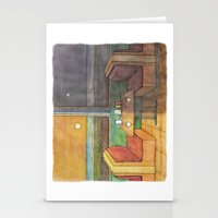 Diner Days, Diner Nights Stationery Cards