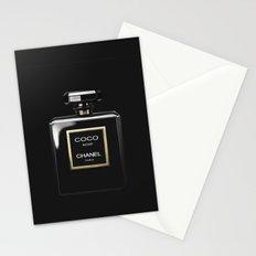 Perfume Noir Black Stationery Cards