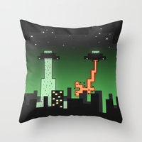 Suprise Arrival From An … Throw Pillow