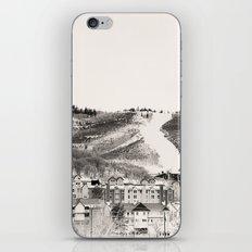 Ski Town iPhone & iPod Skin