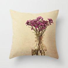 Floral ~ vintage Throw Pillow