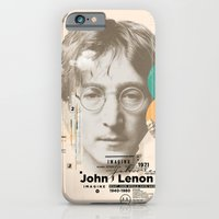 iPhone & iPod Case featuring john lenon-imagine by Azlif