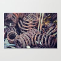 Rust 7 Canvas Print