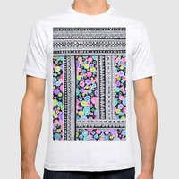 Psychedelic blanket Mens Fitted Tee Ash Grey SMALL