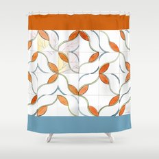 Modern Tiles Shower Curtain