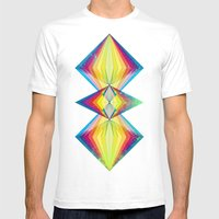 Polarity Mens Fitted Tee White SMALL