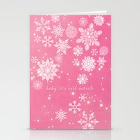 Baby It's Cold Outside Stationery Cards