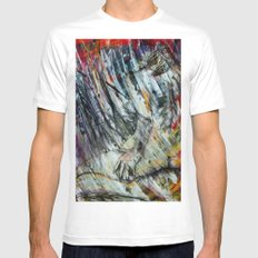 Unbrevitus SMALL White Mens Fitted Tee