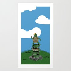 Yertle The Turtle Art Print