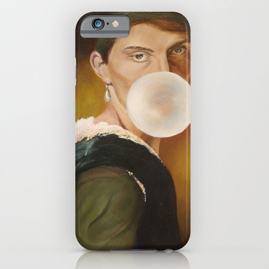 hanging out in history iPhone & iPod Case