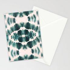 BOHEMIAN EMERALD SHIBORI Stationery Cards