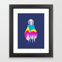 Colors of Light Framed Art Print