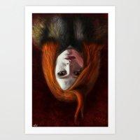 I Am The Night (Wir Sind… Art Print