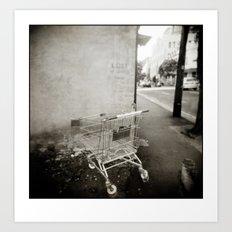 { lost } Art Print