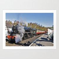 Grosmont Station Art Print