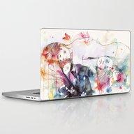Dreamy Insomnia Laptop & iPad Skin