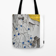 We are eaten up by nothing — Bukowski Tote Bag