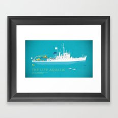 The Life Aquatic With St… Framed Art Print