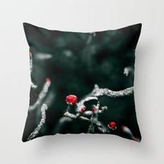 Anti-Flower Throw Pillow