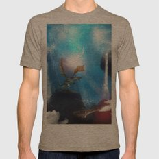 The Dragon Mens Fitted Tee Tri-Coffee SMALL