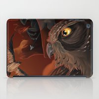 solar owls mars  iPad Case