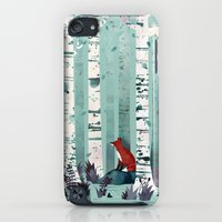 iPod Touch Cases featuring The Birches by littleclyde