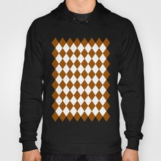 Diamonds (Brown/White) Hoody