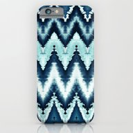 Blue Watercolor Pattern  iPhone 6 Slim Case