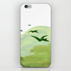 Jurassic Park minimalist Poster iPhone & iPod Skin