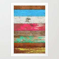 Eco Fashion Art Print