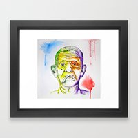 The Wise Framed Art Print