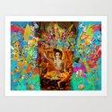 Krishna Art Print
