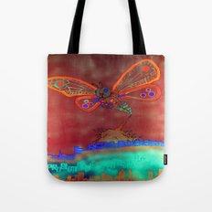 Bad Ash Mothra Funker Full (Wobblesauce) Tote Bag