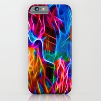Abstract Electrified iPhone 6 Slim Case