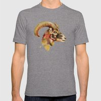 Antelope Mens Fitted Tee Tri-Grey SMALL