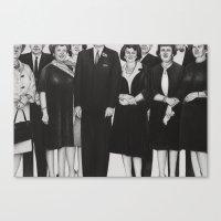 the mortician's wive's club Canvas Print