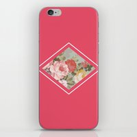 Floribus Adamantino iPhone & iPod Skin