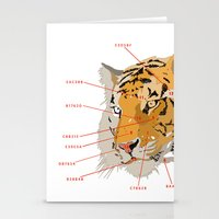 Tiger Colors Stationery Cards