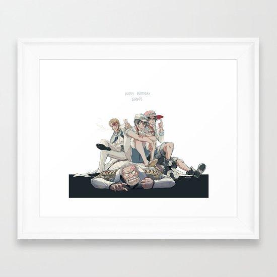 Marines Framed Art Print