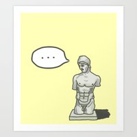 Something Wrong With You… Art Print