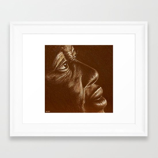 the roots Framed Art Print