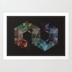 Finite Art Print