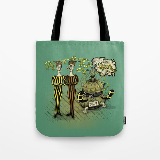 The Electro Bros and The Laugh Machine Tote Bag